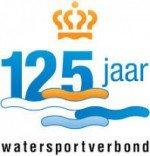 logo 125 jaar watersportverbond